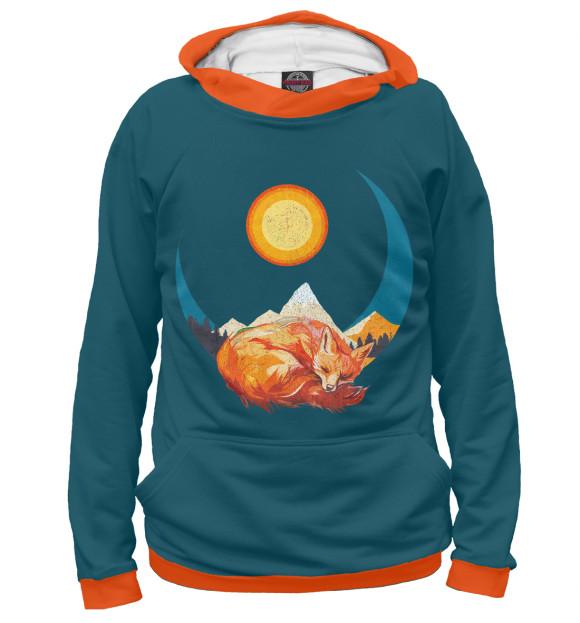 Купить Худи для девочки Лунная лиса FOX-952677-hud-1