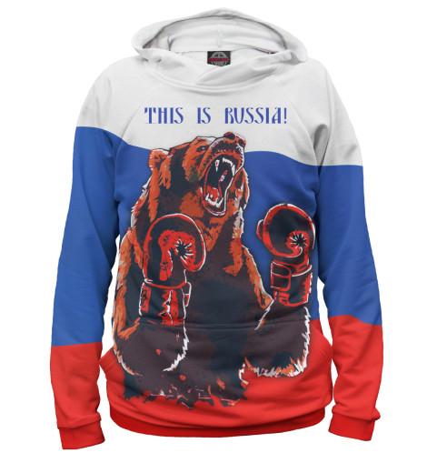 Худи Print Bar Медведь-боксер б у пежо боксер