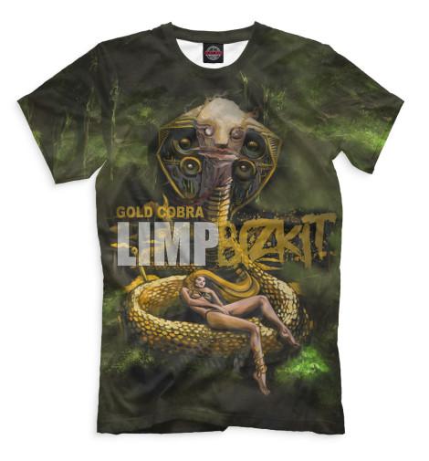 Мужская футболка Gold Cobra