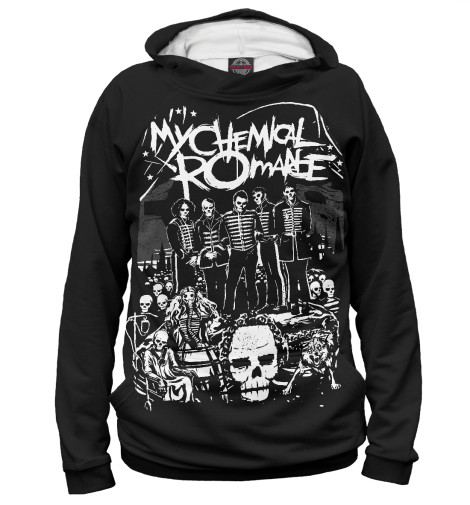 Худи Print Bar My Chemical Romance my chemical romance my chemical romance i brought you my bullets you brought me your love