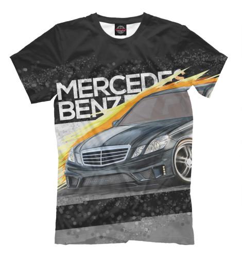 Футболка Print Bar Mercedes-benz E-class