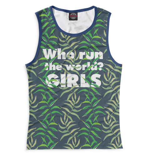 Майка Print Bar Who Runs the Wolrd? - GIRLS худи print bar who runs the wolrd girls