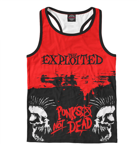 Майка борцовка Print Bar The Exploited the exploited the exploited apocalypse tour 1981 limited edition lp