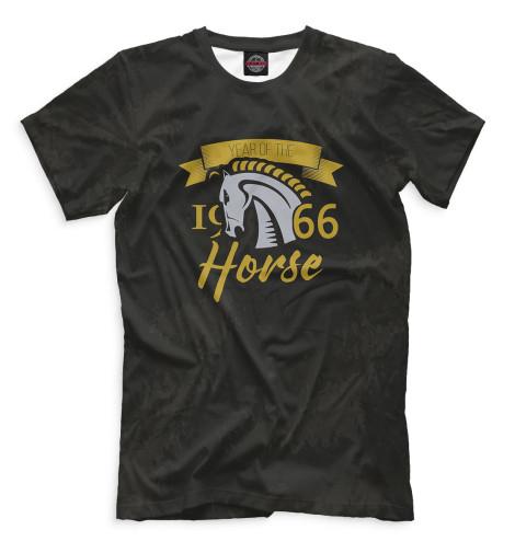 Футболка Print Bar Год лошади — 1966 футболка print bar мужик 1966
