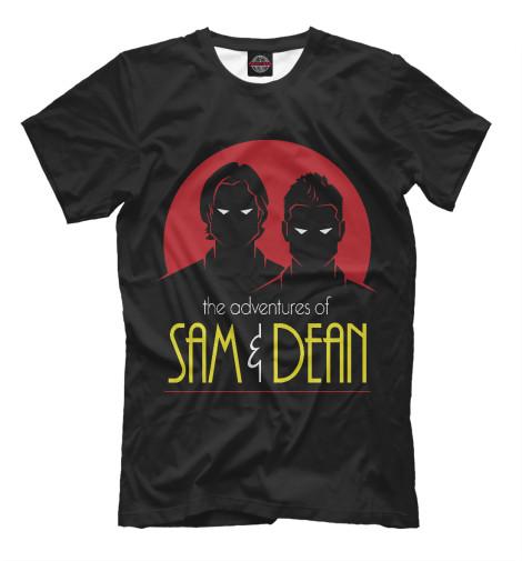 Футболка Print Bar Sam & Dean свитшот print bar sam