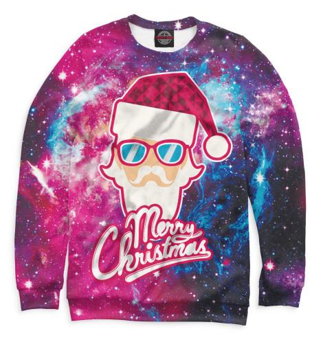 Фото - Мужской свитшот Merry Christmas от Print Bar белого цвета