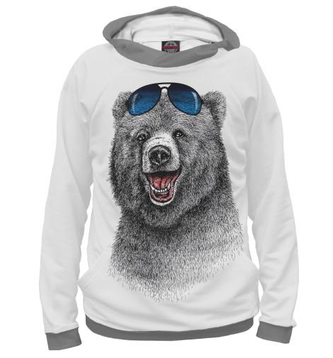 Худи Print Bar Счастливый медведь свитшот print bar счастливый медведь