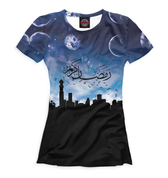 Купить Футболка для девочек Ислам ISL-907810-fut-1