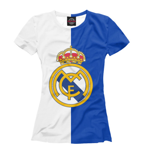 Футболка Print Bar Real Madrid tryp madrid centro ex tryp washington 3 мадрид