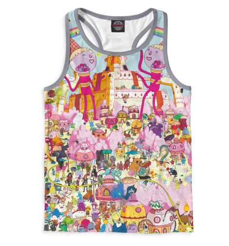Купить Мужская майка-борцовка Adventure Time ADV-595383-mayb-2