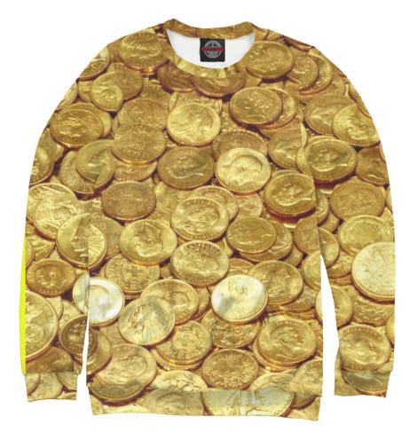 Свитшот Print Bar Золотые монеты монеты в сургуте я продаю