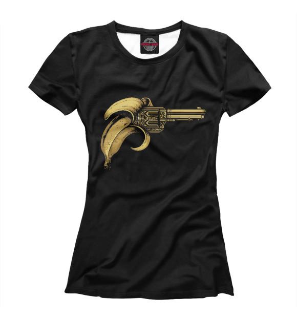 Купить Футболка для девочек Банановый пистолет MIN-558836-fut-1