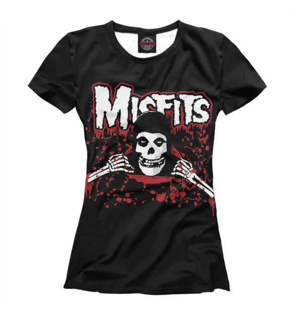 Купить Футболка для девочек Misfits dead in blood MZK-239230-fut-1