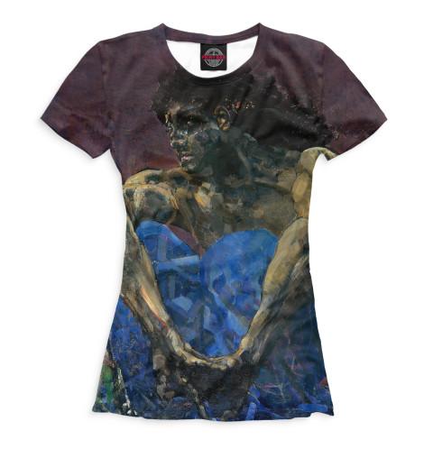 Женская футболка Демон