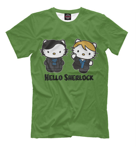 Футболка Print Bar Hello Sherlock футболка print bar sherlock holmes