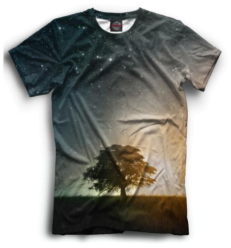 Мужская футболка Kосмос