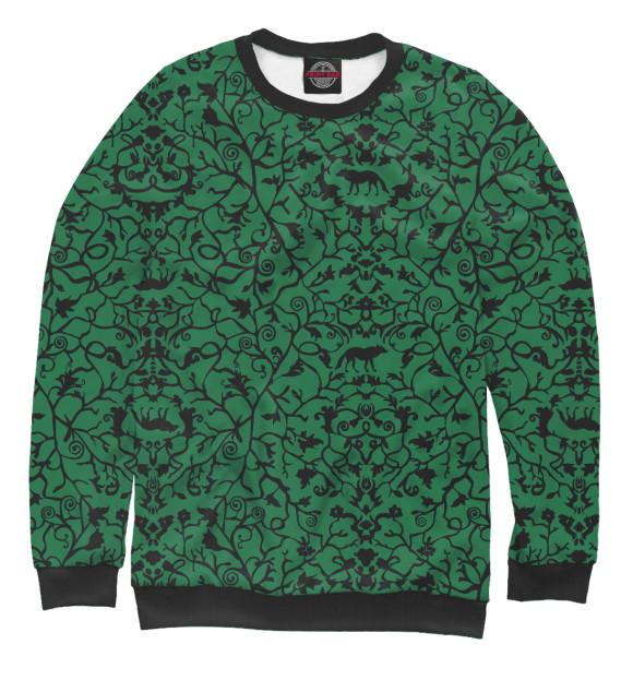 Купить Свитшот для мальчиков Abstract Wolf Green ABS-712445-swi-2