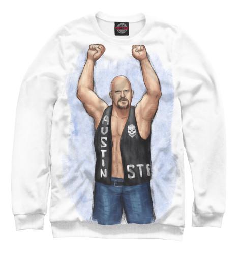 Свитшот Print Bar WWE: Стив Остин свитшот print bar wwe сет роллинс