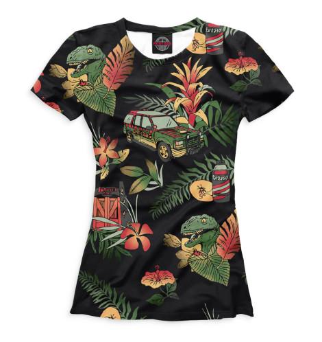 Женская футболка Парк Юрского периода