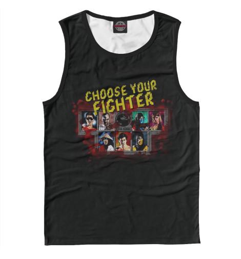 Майка Print Bar Choose Your Fighter футболка print bar choose your fighter