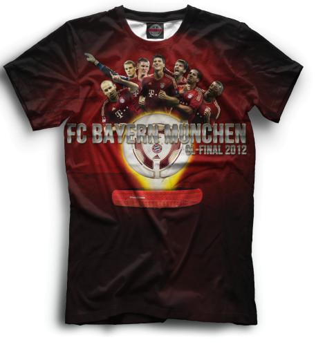 Мужская футболка CL-Final 2012