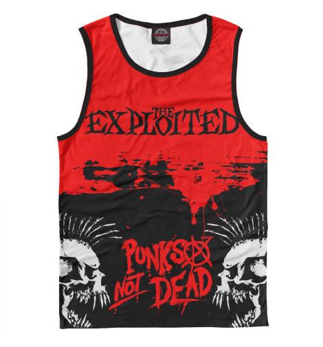 Майка Print Bar The Exploited the exploited the exploited apocalypse tour 1981 limited edition lp
