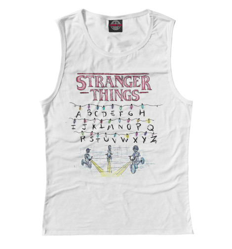 Майка Print Bar Stranger Things stranger shores