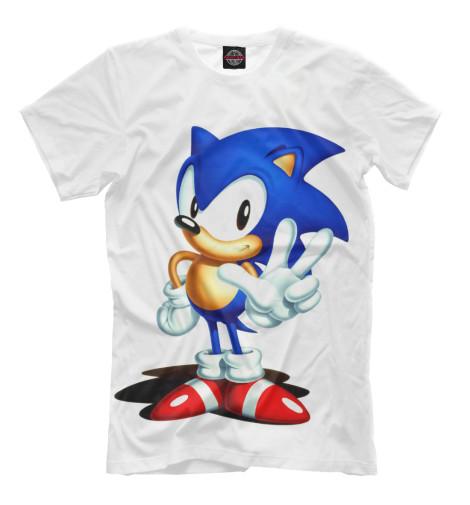 Футболка Print Bar SONIC футболка классическая printio sonic unleashed