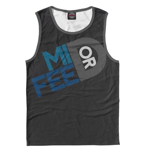 Майка Print Bar Mid or feed футболка print bar mid or feed
