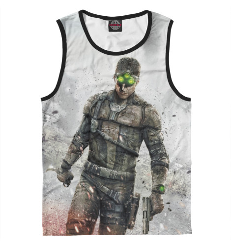 Майка Print Bar Splinter Cell: Blacklist — Сэм Фишер tom clancy's splinter cell 3d