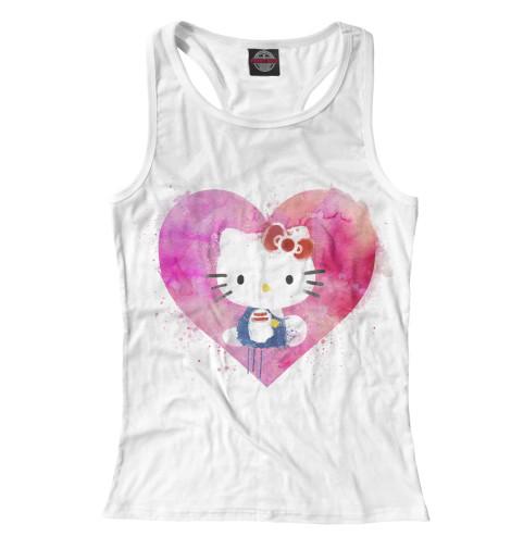 Майка борцовка Print Bar Hello Kitty набор для плавания hello kitty hey32623 очки шапочка