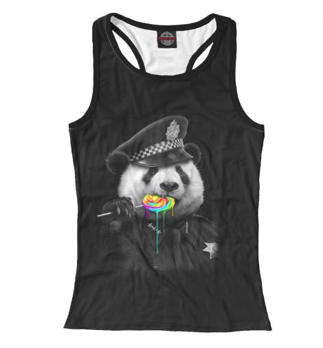 Майка борцовка Print Bar Panda Cop худи print bar sweet cop
