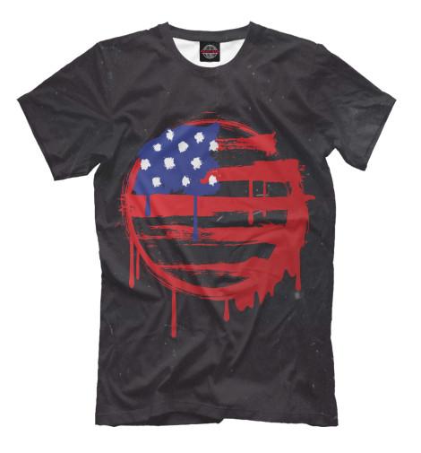 Футболка Print Bar American Flag (Американский флаг)