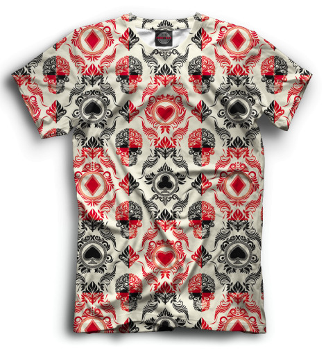 Мужская футболка Карты