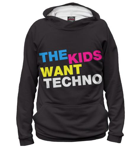 Худи Print Bar  Love Techno