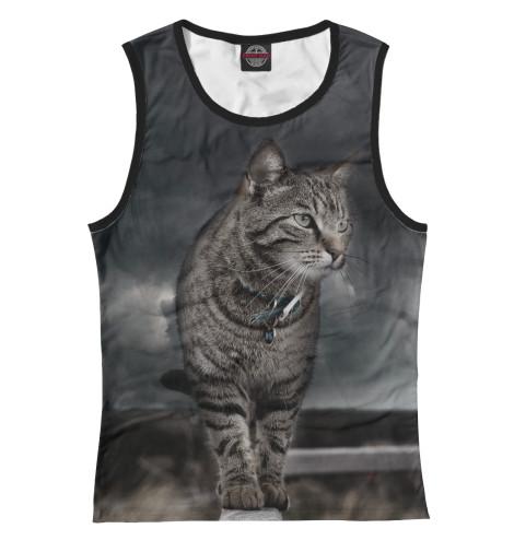 Купить Майка для девочки Кот CAT-735060-may-1