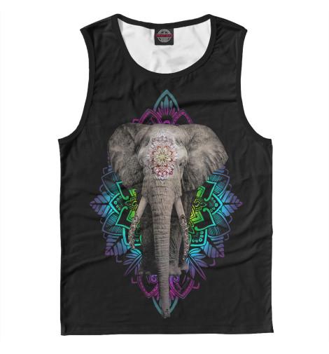 Майка Print Bar Индийский слон свитшот print bar слон
