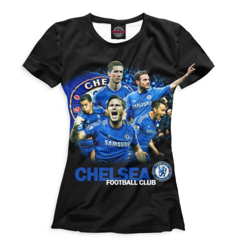 Женская футболка Chelsea football club