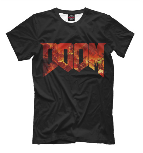 Футболка Print Bar Doom doom patrol book one