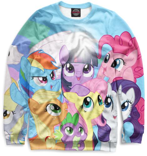 Мужской свитшот My Little Pony