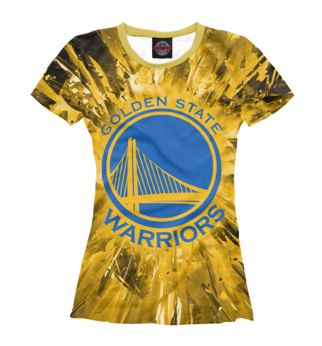 Футболка Print Bar Golden State Warriors abc warriors meknificent seven