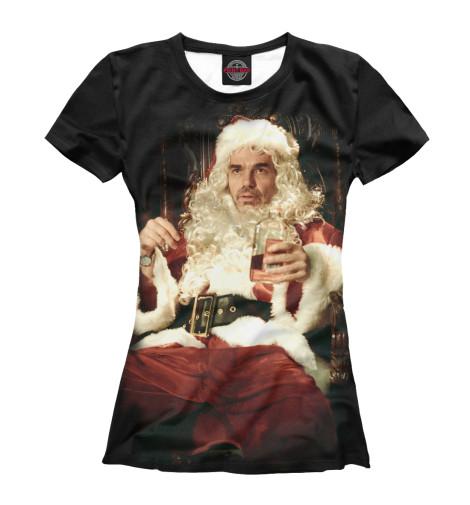 Футболка Print Bar Bad Santa майка классическая printio во все тяжкие braiking bad ч б