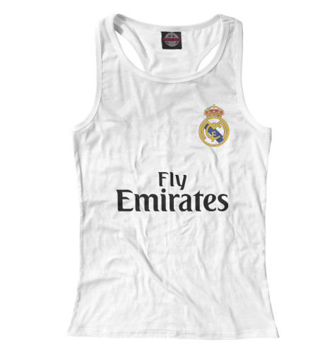Майка борцовка Print Bar Форма Реал Мадрид детская футболка классическая унисекс printio реал мадрид