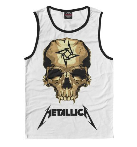 Майка Print Bar Metallica Skull майка классическая printio i love metallica