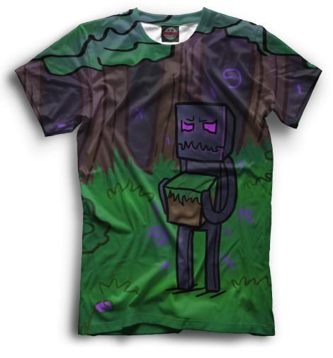 Купить Мужская футболка Minecraft MCR-267831-fut-2