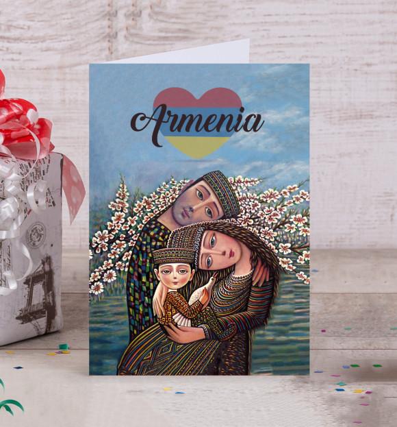 Армения на открытках