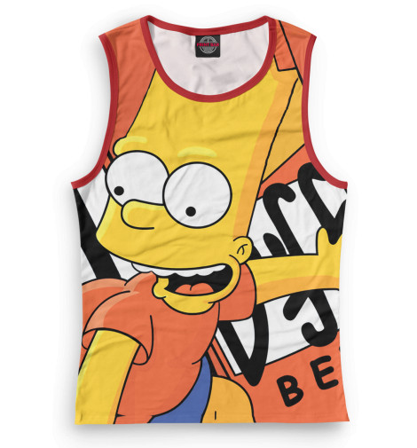 Женская майка Барт
