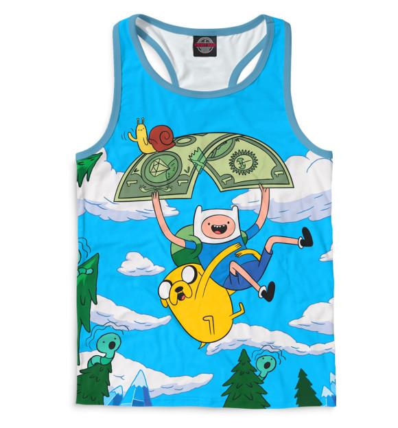 Купить Мужская майка-борцовка Adventure Time ADV-871202-mayb-2