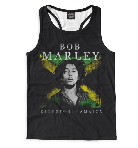 Мужская майка-борцовка Bob Marley