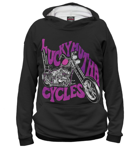 Женское худи Lucky Mutha Cycles